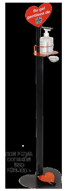 Dosificador gel modelo pedal